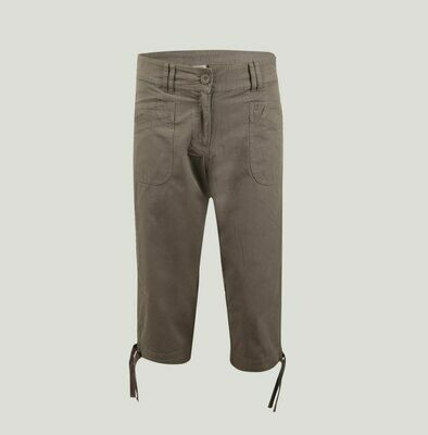 Switcher 3/4 Hose Damen ALICIA Baumwolle TWILL