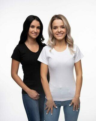 """Switcher BIO T-Shirt rundhals """"ribbed"""" SALLY"""