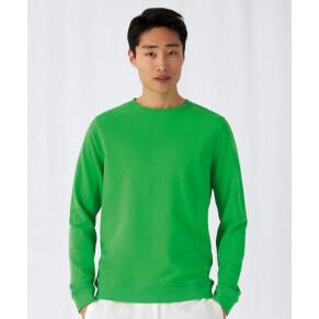B&C Collection Organic Crew Neck Pullover/ men