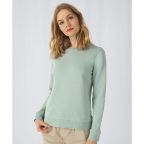 B&C Collection Organic Crew Neck Pullover/ woman