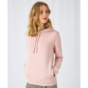 B&C Collection Organic Hooded /women