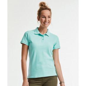 Russell Damen Bio Piqué Poloshirt #508F