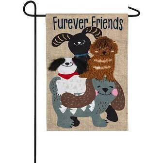 Forever Dog Garden Flag