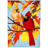 Cardinal Couple Flag