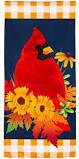 Fall Cardinal Everlasting Decor