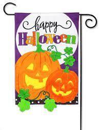 Halloween Jack-o-lanterns Flag