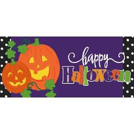 Halloween Jack-O-Lantern Mat