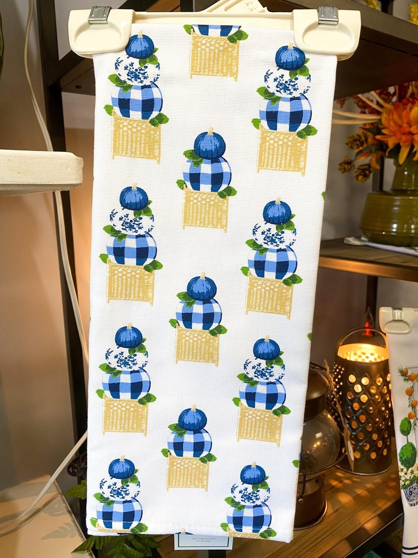Pumpkin Topiary Tea Towel