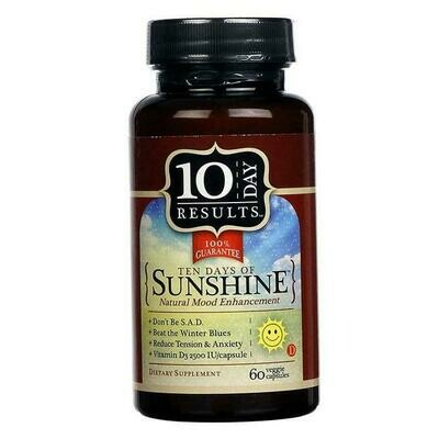 10 Days of Sunshine - 60 Capsules