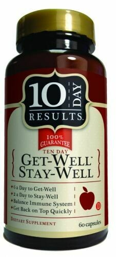 Get Well Stay Well Yeast Free - 60 Capsules