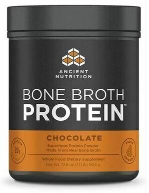Bone Broth Protein Powder Chocolate 17.8 oz