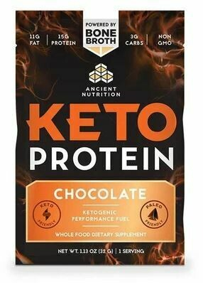 Keto Protein Powder Chocolate Single Serving