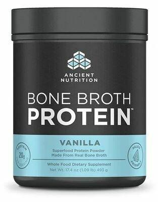 Bone Broth Protein Powder Vanilla 17.4 oz