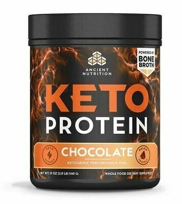 Keto Protein Powder Chocolate - 19 oz