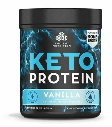 Keto Protein Powder Vanilla - 18.7 oz