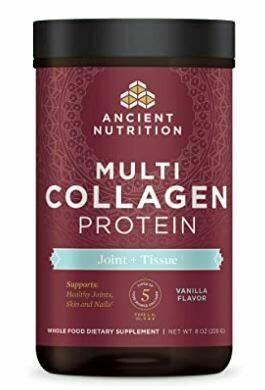 Multi Collagen Protein Powder Joint & Tissue Vanilla - 8 oz