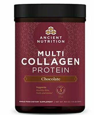 Multi Collagen Complex Powder Chocolate - 18.5 oz