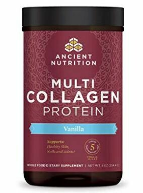 Multi Collagen Protein Powder Vanilla - 8.6 oz