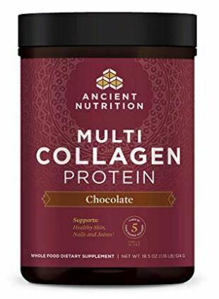 Multi Collagen Protein Powder Chocolate - 18.5 oz