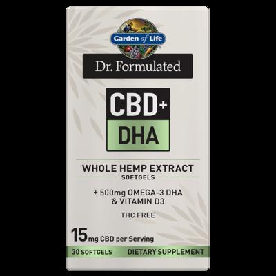 Dr Formulated CBD+ DHA - 30 Softgels