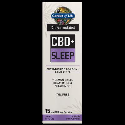 Dr Formulated CBD+ Sleep Liquid Drops - 1 oz