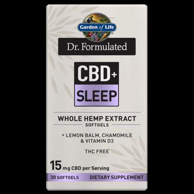 Dr Formulated CBD+ Sleep - 30 Softgels