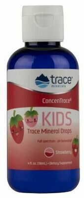 ConcenTrace® Kid's Trace Mineral Drops Strawberry - 4 oz