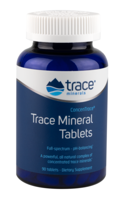 ConcenTrace Trace Mineral Tablets - 90 Tablets