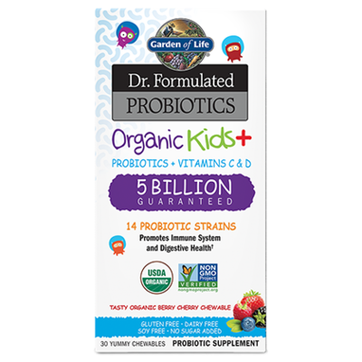 Dr Formulated Probiotics Kids Organic+ 5 Billion CFU - 30 Capsules