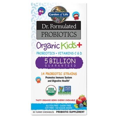 Dr Formulated Probiotics Kids Organic+ 5 Billion CFU - 30 Capsules