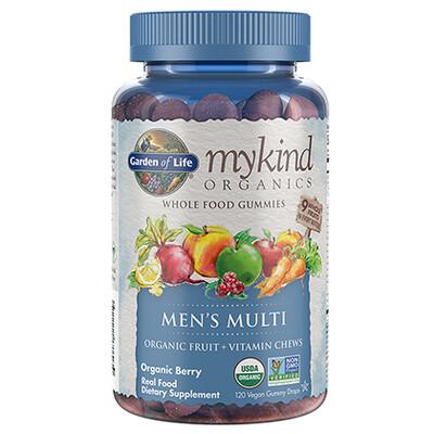 mykind Organics Men's Multi Gummy - 120 Gummies