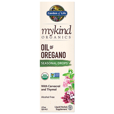 mykind Organics Oil of Oregano - 1 oz