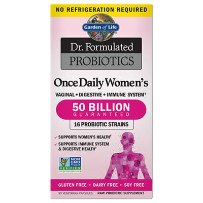 Dr Formulated Probiotics Once Daily Women's 50 Billion CFU - 30 Capsules