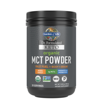 Dr Formulated Keto Organic MCT Powder - 10.58 oz