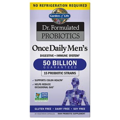 Dr Formulated Probiotics Once Daily Men's 50 Billion CFU - 30 Capsules