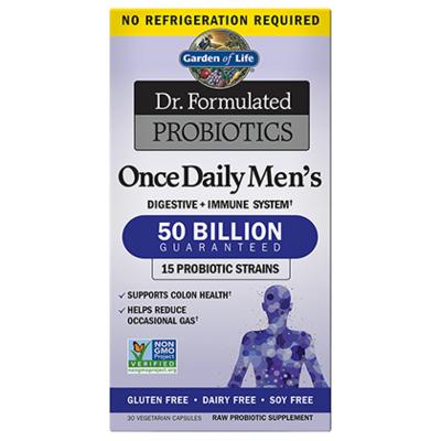 Dr Formulated Probiotics Once Daily Men's 50 Billion CFU - 30 Capsules