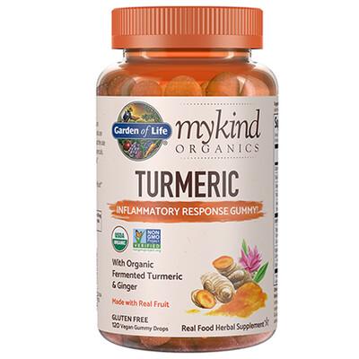 mykind Organics Turmeric Inflammatory Response - 120 gummies