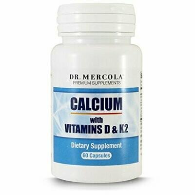 Calcium with Vitamin D/K2 - 60 Capsules