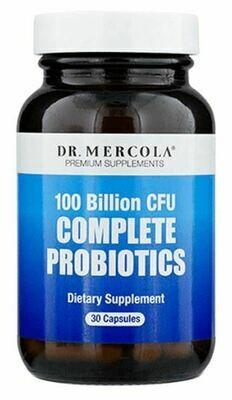 Complete Probiotics 100 Billion CFU - 30 Capsules