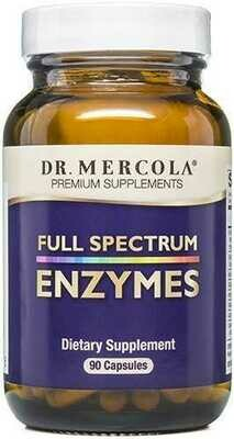 Full Spectrum Enzymes - 90 Capsules