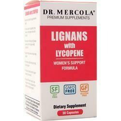 Dr Mercola Lignans and Lycopene - 30 Capsules