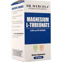 Magnesium L-Threonate - 90 Capsules