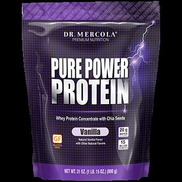 Pure Power Protein Powder Vanilla - 31 oz.
