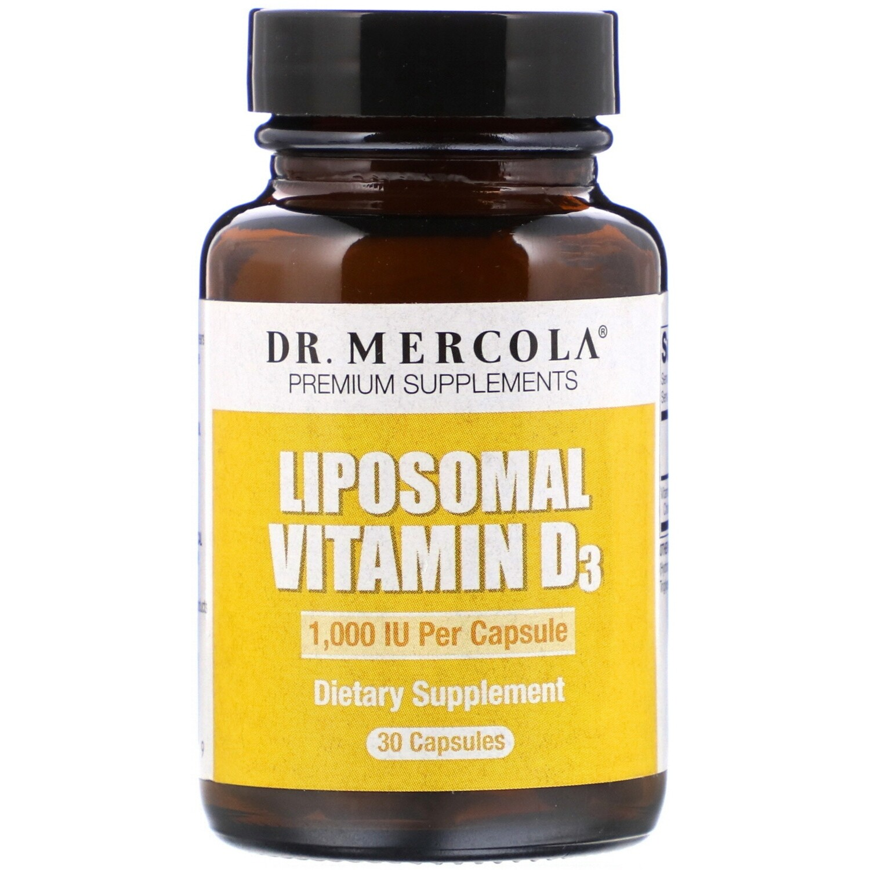 Liposomal Vitamin D 1000 IU - 30 Capsules