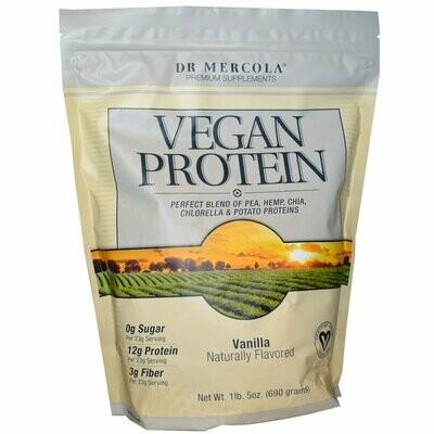 Vegan Protein Powder Vanilla - 24.3 oz