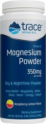 Stress-X Magnesium Powder Raspberry Lemon - 16.9 oz