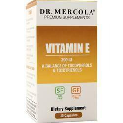 Vitamin E 200 IU - 30 Capsules