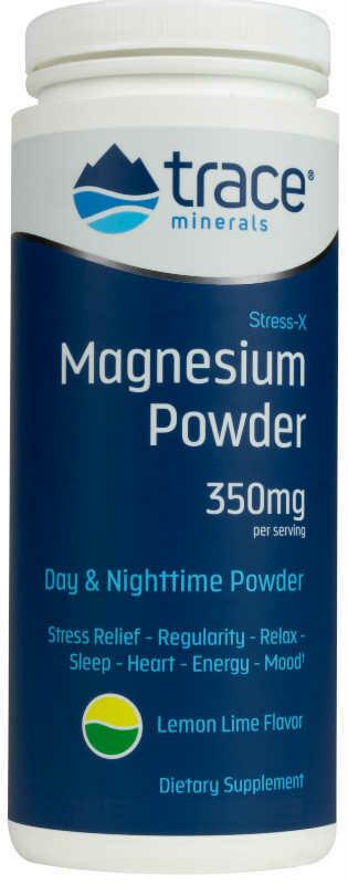 Stress-X Magnesium Powder Lemon Lime - 8.5 oz