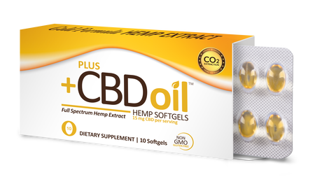 CBD Gold Formula - 10 Softgels