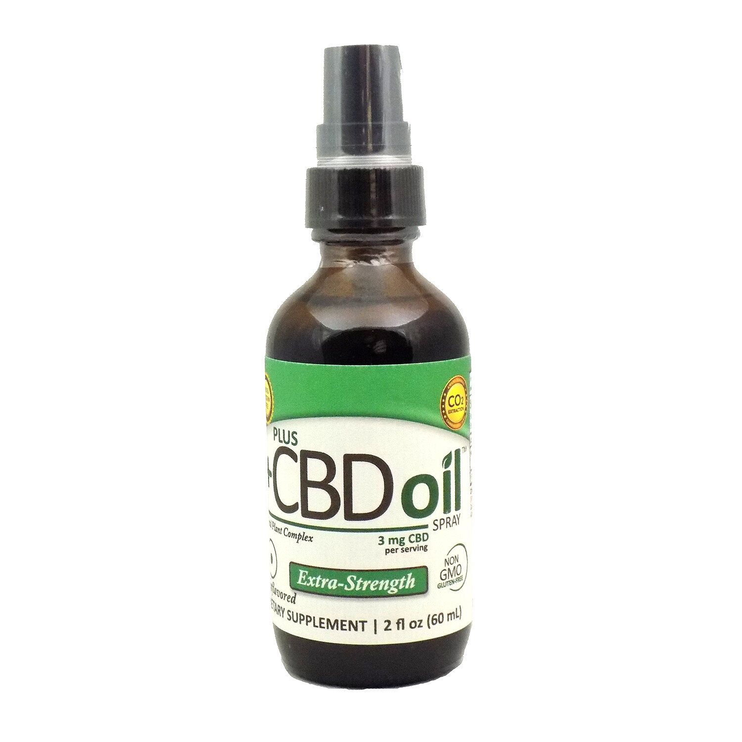 CBD Total Plant Complex Extra Strength Unflavored - 2oz